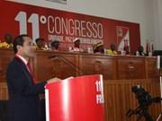Delegación partidista vietnamita asiste a Congreso del Frente de Liberación de Mozambique