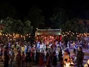 Efectúan en Hanoi espectáculos tradicionales en ocasión de Fiesta del Medio Otoño