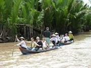 Aumentan arribos de turistas a localidades del Delta del río Mekong de Vietnam