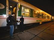 Corporación Ferrovaria de Vietnam aumentará trenes en ocasión del Tet