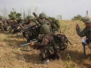 Estados Unidos y Filipinas realizan ejercicio conjunto antiterrorista