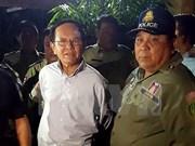 Ministerio del Interior de Camboya denuncia al opositor partido CNRP