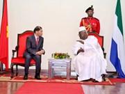 Vietnam y Sierra Leona fortalecen cooperación multifacética