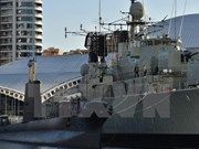 Buques de la Armada australiana visitan Filipinas