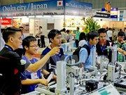 Inauguran en Vietnam exposiciones internacionales sobre maquinarias e industria auxiliares