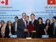 Ciudad Ho Chi Minh y Toronto acuerdan intensificar cooperación