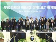 Inauguran en Hoi An reunión de altos funcionarios de Finanzas de APEC