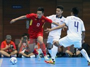 Vietnam fija meta de llegar a la final de torneo de futsal regional