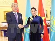 Presidenta del Parlamento de Vietnam concluye visita a Kazajstán