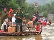 Hoa Binh sufre pérdidas materiales de casi 72 millones de dólares por inundaciones
