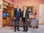 Presidente del Senado australiano destaca cooperación con Vietnam
