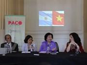 Medios de comunicación argentinos interesados en Vietnam
