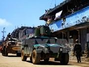 Filipinas anuncia liberación de todos los rehenes en Marawi