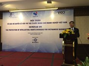 Empresas vietnamitas buscan impulsar protección de derechos de propiedad intelectual