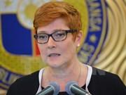 Australia incrementará apoyo a Filipinas en temas de seguridad