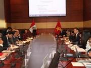 Efectuada primera Reunión de Comisión Intergubernamental Perú-Vietnam