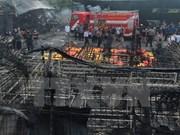 Indonesia: explosión de fábrica de fuegos artificiales mata a 47 personas