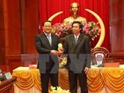 Vicepresidente de Laos visita provincia survietnamita de Tien  Giang