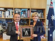 Australia cooperará con Vietnam para acelerar negociaciones sobre TPP