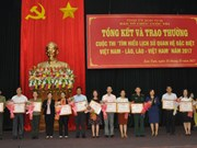 Destacan gran participación en concurso sobre amistad Vietnam- Laos