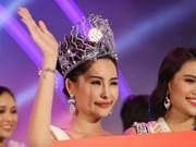 Le Au Ngan Anh se corona como Miss Ocean Vietnam 2017