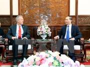 Presidente de Vietnam destaca contribuciones del embajador estadounidense