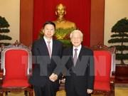 Secretario general de PCV recibe a enviado especial de máximo dirigente partidista de China