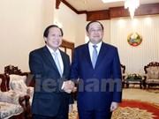 Vietnam y Laos por fortalecer lazos en información y comunicación