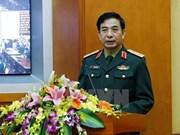 Viceministro de Defensa de Vietnam recibe a jefe de fuerza aérea india