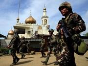 Policía filipina arresta a militante indonesio en Marawi