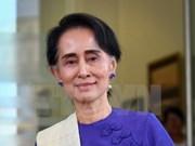 Consejera del Estado de Myanmar realiza visita a Rakhine