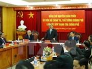 Premier vietnamita sostiene encuentro con nuevo inspector general del gobierno