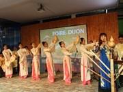 Stand de Vietnam en Feria Internacional Dijon atrae a público francés