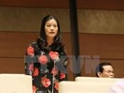 Diputados vietnamitas debaten la lucha anticorrupción