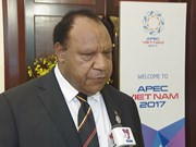 APEC 2017 en Vietnam, una buena experiencia para Papúa Nueva Guinea