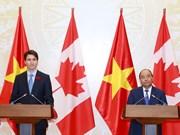 Vietnam y Canadá acuerdan impulsar cooperación multifacética