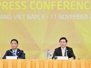 XXIX AMM adopta cuatro documentos importantes para presentarlos a Líderes del APEC