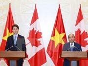 Vietnam y Canadá elevan sus relaciones al nivel de asociación integral