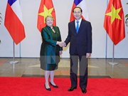 Vietnam y Chile reiteran la voluntad de consolidar nexos bilaterales