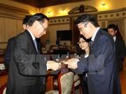 Ciudad Ho Chi Minh y grupo educativo japonés impulsan cooperación