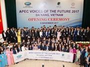 APEC 2017: jóvenes contribuyen a desarrollo sostenible y exclusivo del bloque