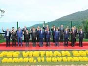 Inauguran en Vietnam Reunión de Líderes Económicos del APEC 2017