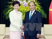Vietnam y Hong Kong (de China) se comprometen impulsar cooperación económica