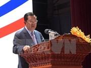 Dirigentes vietnamitas reciben a primer ministro de Camboya