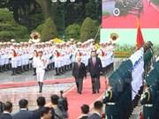 Máximo dirigente partidista de Vietnam recibe a Xi Jinping