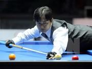 Billarista vietnamita avanza a ronda semifinal de Campeonato mundial de Carambola de tres bandas