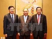 Primer ministro de Vietnam se reúne con homólogos de Laos y Camboya