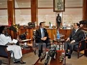 Vietnam y Botswana buscan fortalecer lazos multilaterales