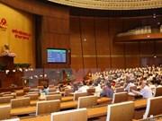Asamblea Nacional de Vietnam revisa proyectos de ley y resolución