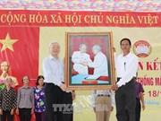 Dirigente partidista de Vietnam resalta papel del Frente de la Patria